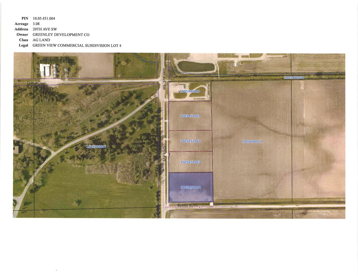 TBD 20th Ave. S.W., Independence, IA 50644 - Independence, IA real estate listing