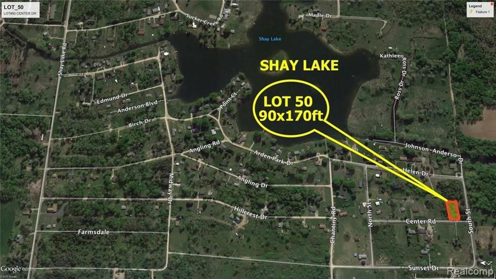 LOT #50 CENTER, Dayton Twp, MI 48760 - Dayton Twp, MI real estate listing